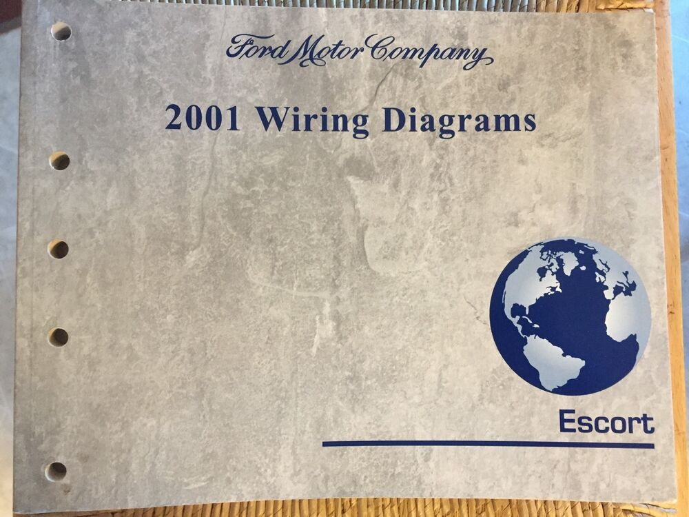 2001 Escort Ford Car Wiring Diagram Repair Manual 01