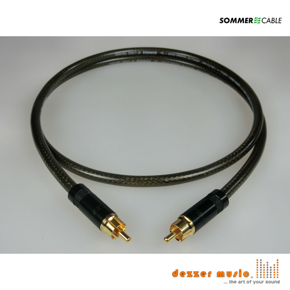 15m subwoofer kabel spirit xxl sommer cable cinch highend. Black Bedroom Furniture Sets. Home Design Ideas