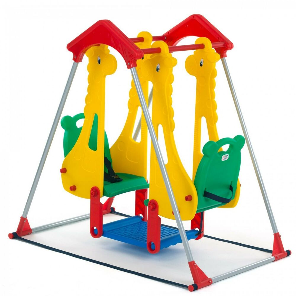 Kids Swing Playground Children Play Area Outdoor Garden