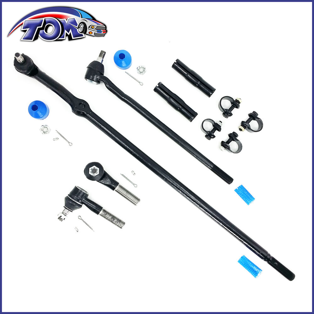 brand new 6pc kit tie rods drag links sleeves for ford