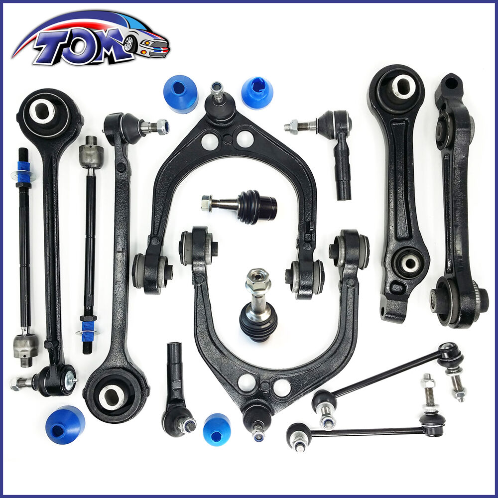 Front Suspension: BRAND NEW 14PCS FRONT SUSPENSION KIT FOR RWD CHRYSLER 300