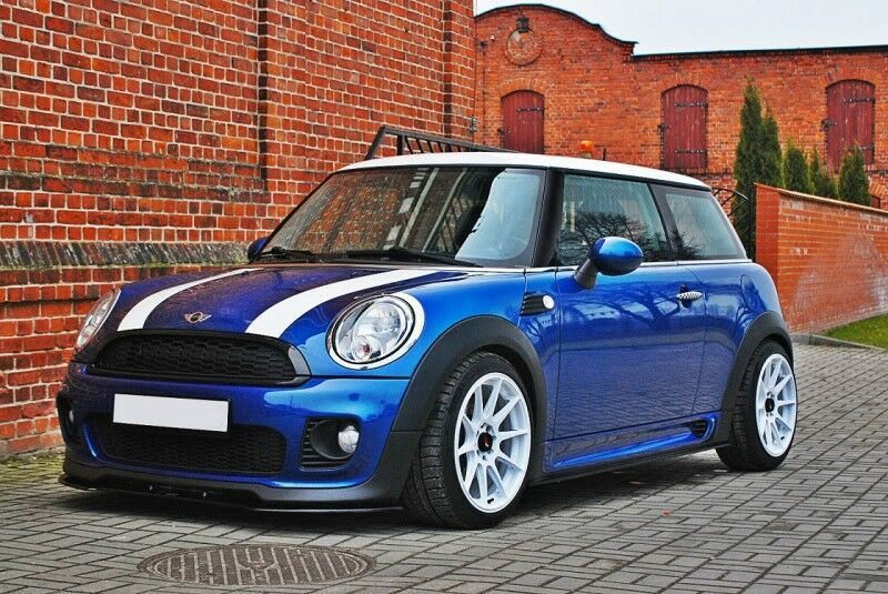 side skirts add on diffusers mini cooper r56 jcw 2006 2010 ebay. Black Bedroom Furniture Sets. Home Design Ideas