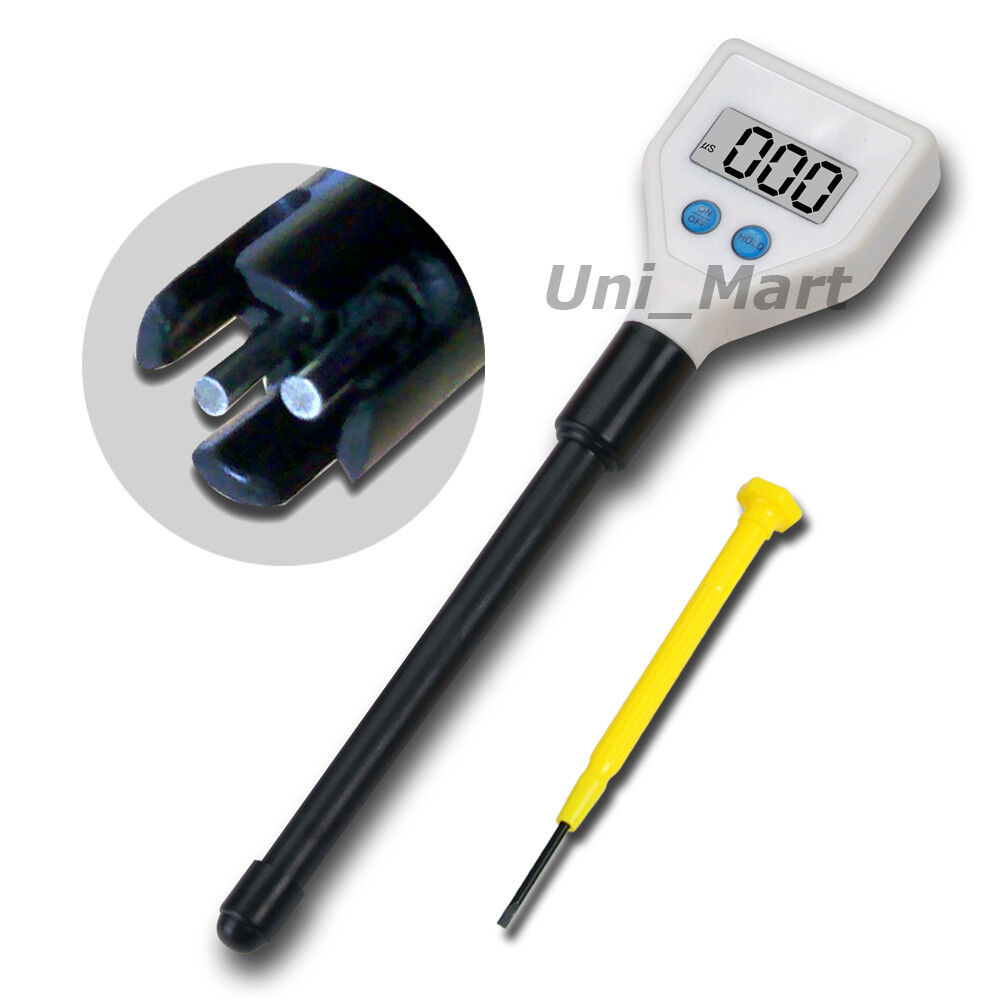 Electrical Conductivity Meter : Ec electrical conductivity meter water tester long probe