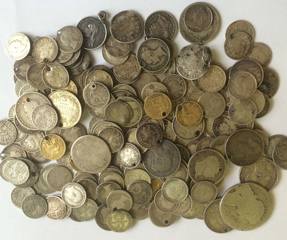 1 Oz Silver Early Mixed Coins Most Pre 1900 Victoria