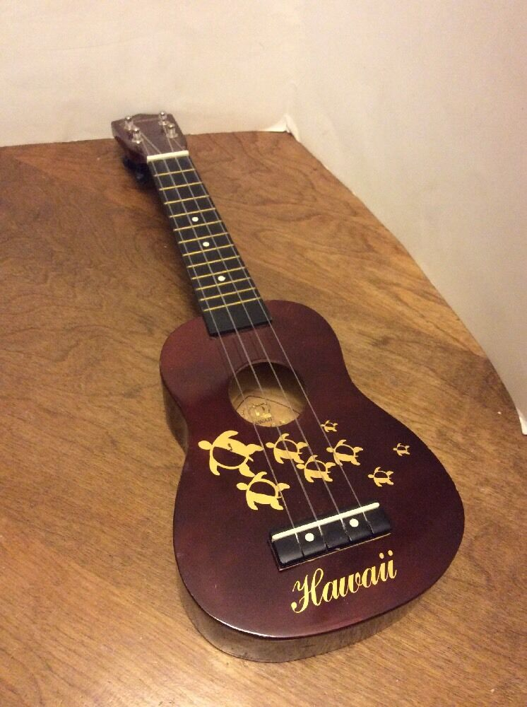 hawaii leolani by omi international honolulu playable toy ukulele with turtles ebay. Black Bedroom Furniture Sets. Home Design Ideas