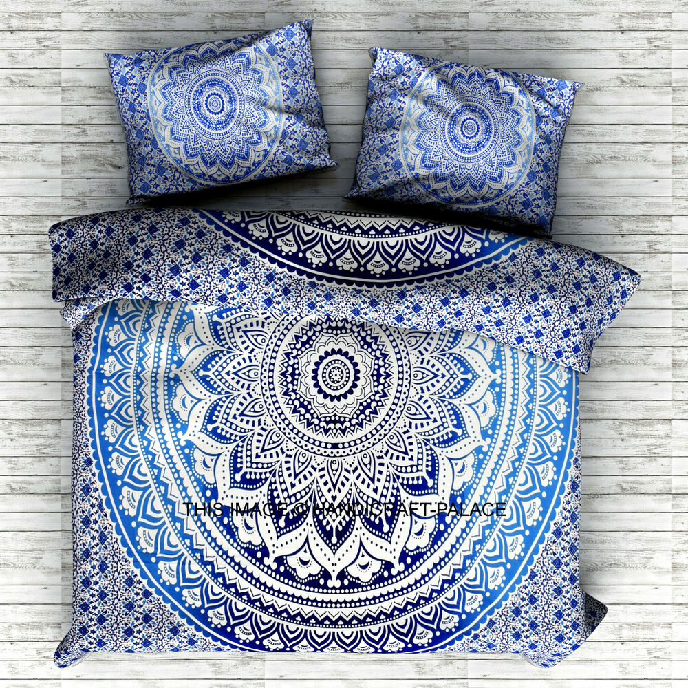Indian Queen Size Bedding Set Tapestry Hippie Bohemian ...
