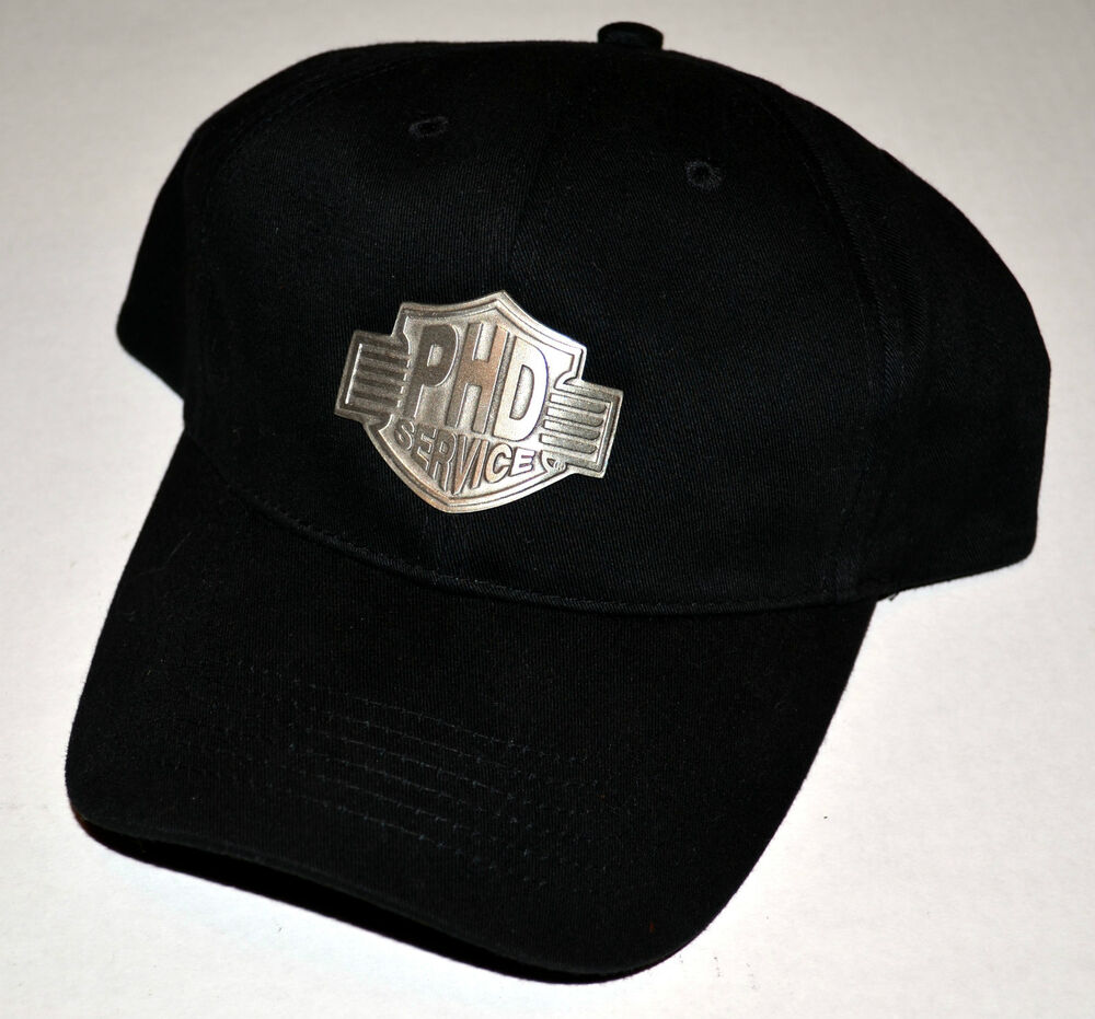 Harley Davidson Fitted Hats: Harley-Davidson Baseball Cap Hat With PHD Medallion