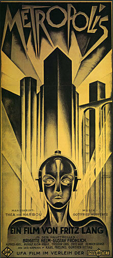 Metropolis 30x44 Hand Numbered Edition Beautiful Art Deco ...