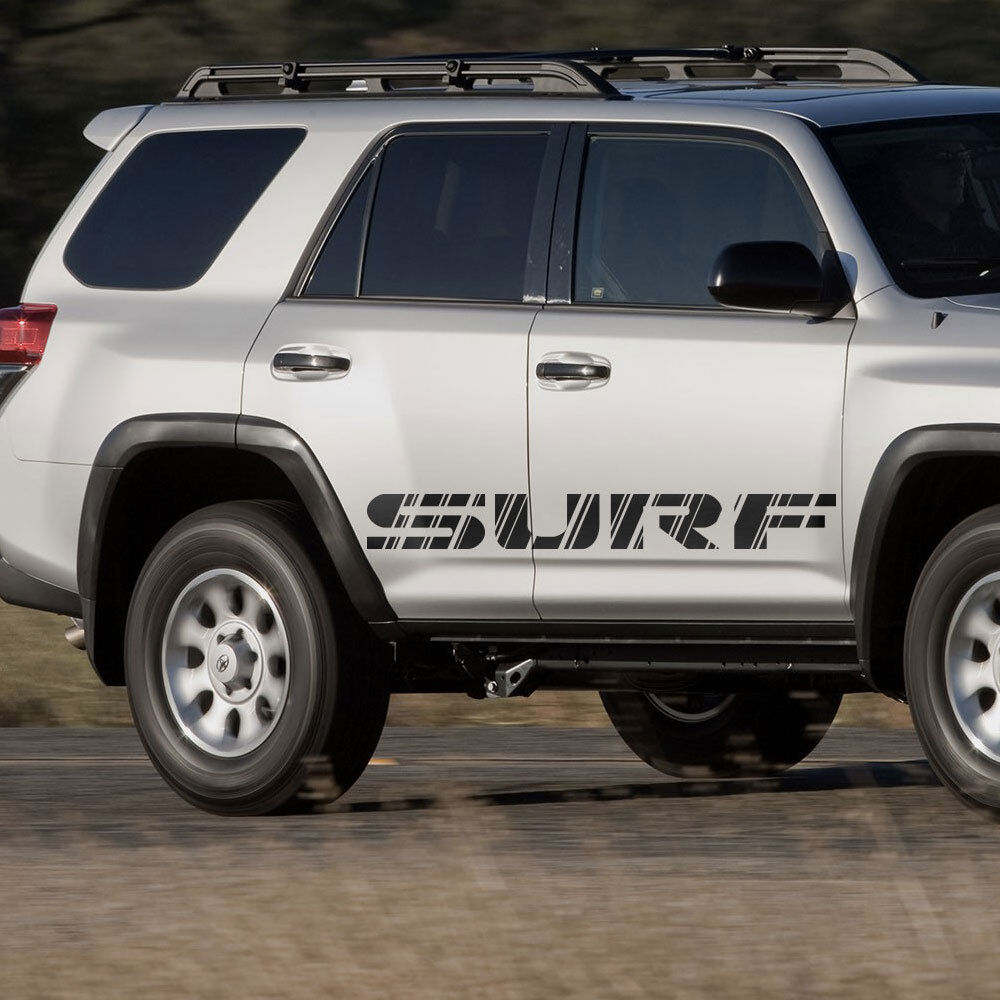 Toyota Suff: Toyota 4Runner Surf Retro Style Graphics Side Stripe Decal