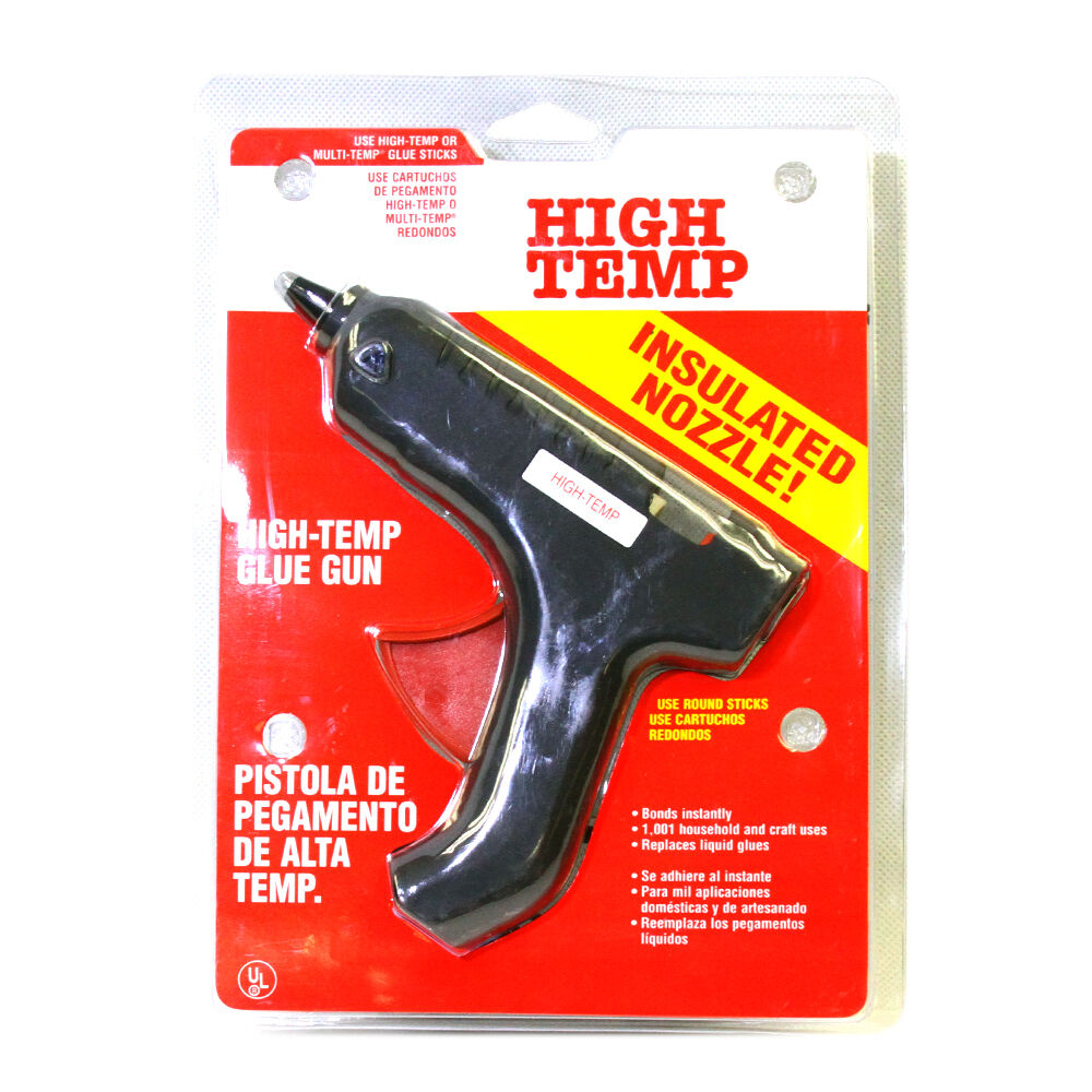 New glue gun hot melt high temp insulated nozzle powerful