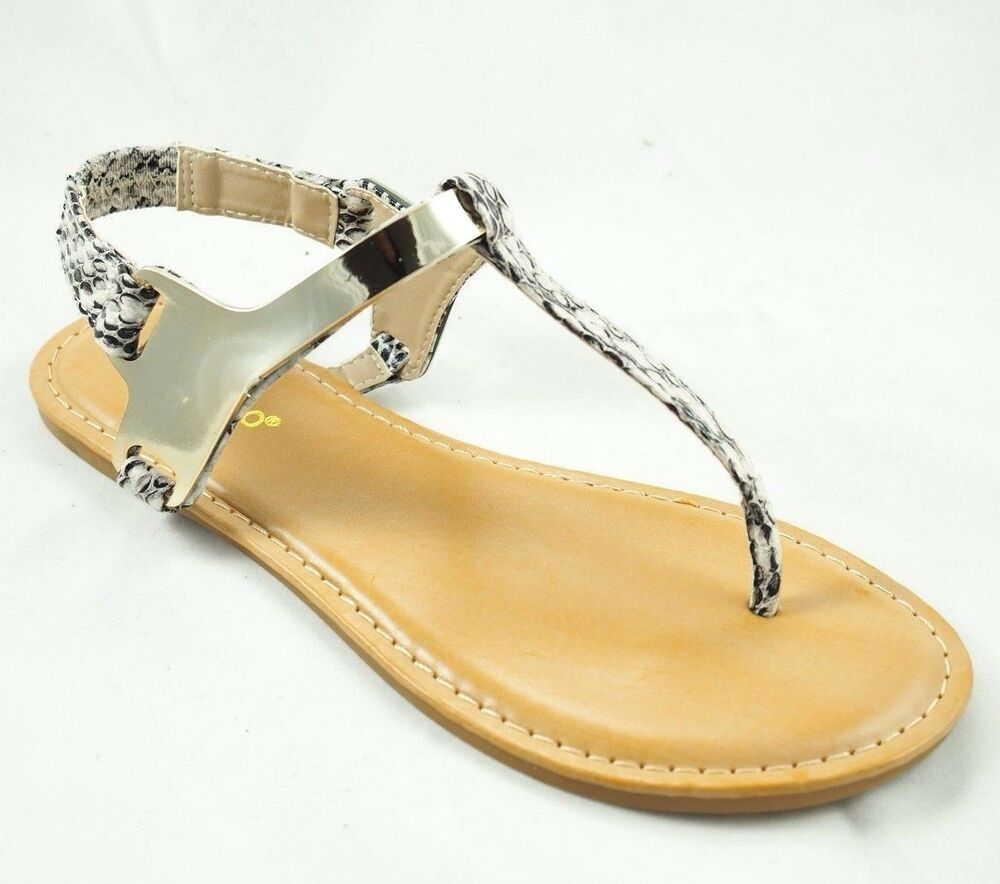 Amazing  DIAMANTE STRAP SANDALS WOMENS GLADIATOR TOE POST SHOES FLAT THONG SIZE