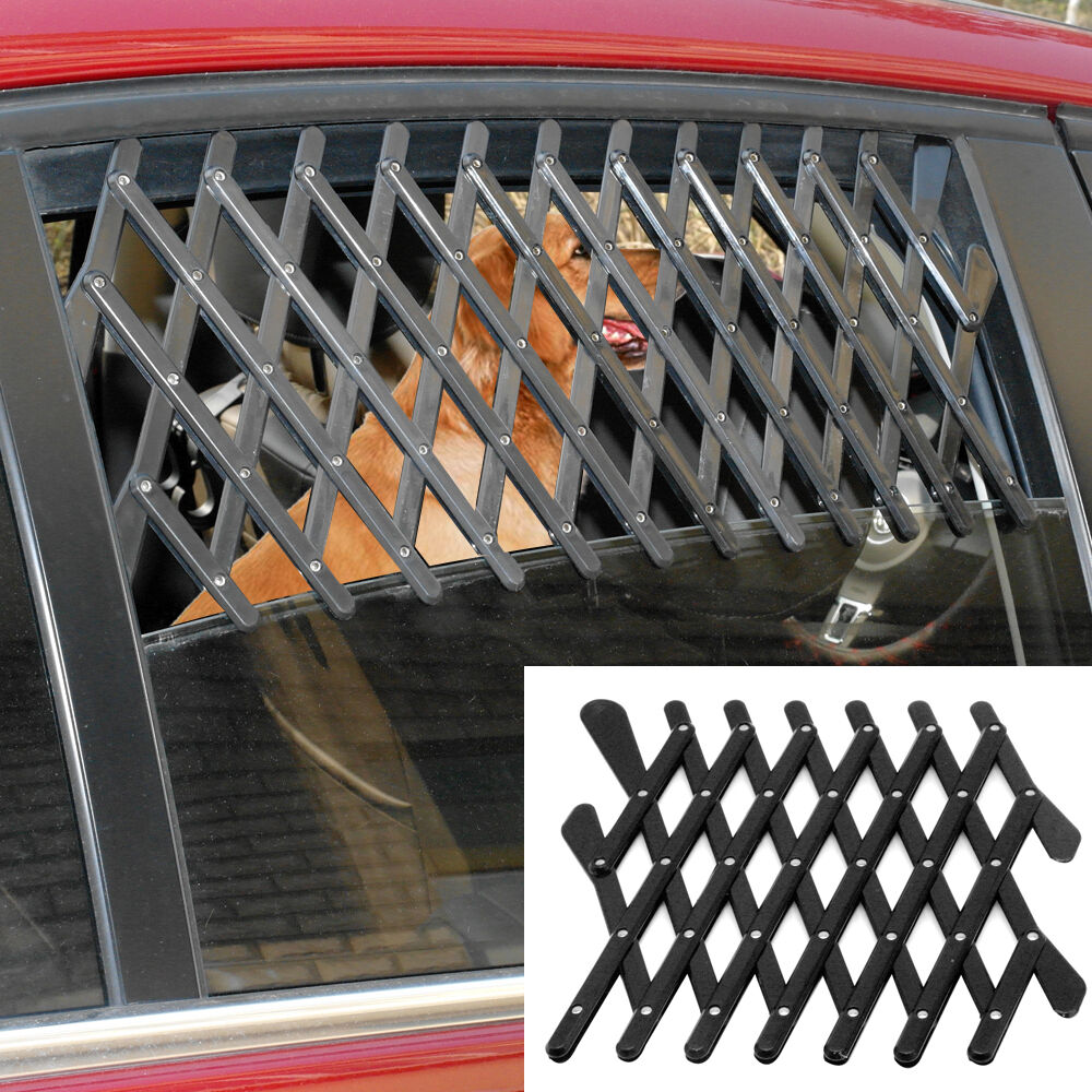 New Pet Dog Travel Car Window Ventilation Grill Outdoor