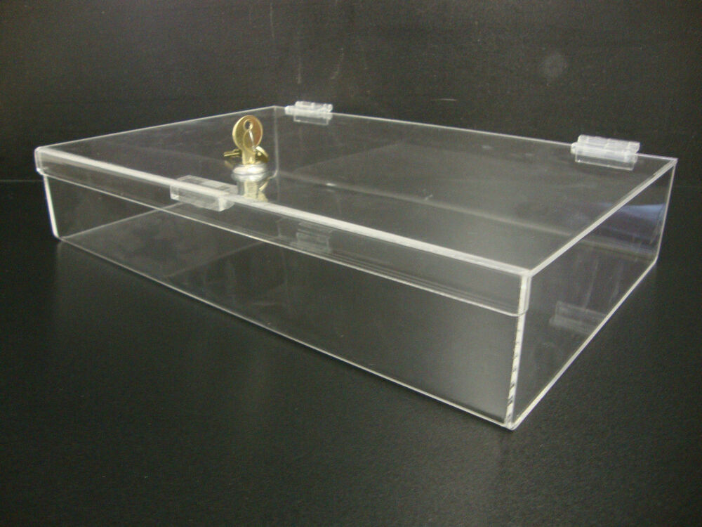 Acrylic Countertop Display Case16 Quot X 10 Quot X 3 Quot Locking