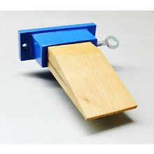 Jewelers Bench Pin Attachment Wood & Metal Anvil Holder Jewelry Making Workbench