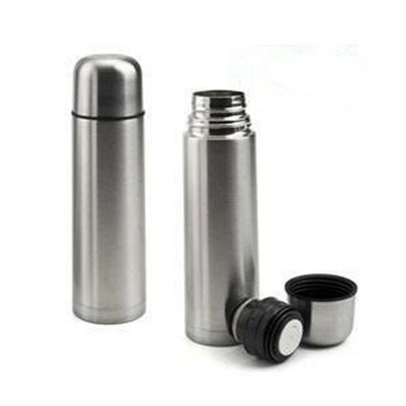 Vacuum Stainless Steel Hot Cold Coffee Tea Water Bottle