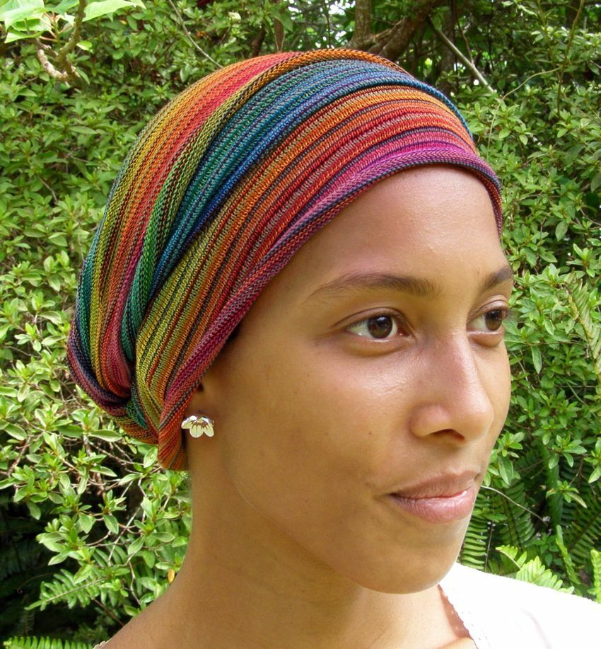 rainbow cover all wraps turban wraps chemo hair scarf