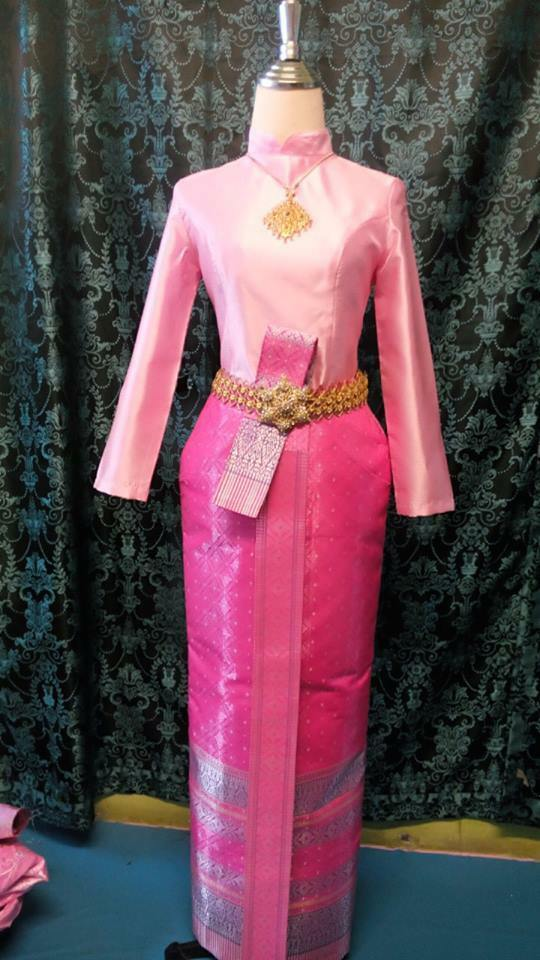 Thai Wedding Dress Traditional Bridal Chut Thai Borompiman