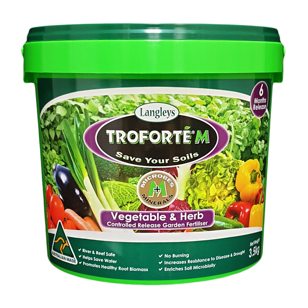Troforte fertiliser vegetable herbs langley - When to fertilize vegetable garden ...
