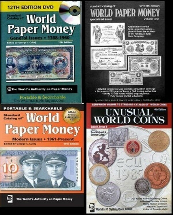 world paper money and coins catalog all 3 volumes pdf files only ebay. Black Bedroom Furniture Sets. Home Design Ideas