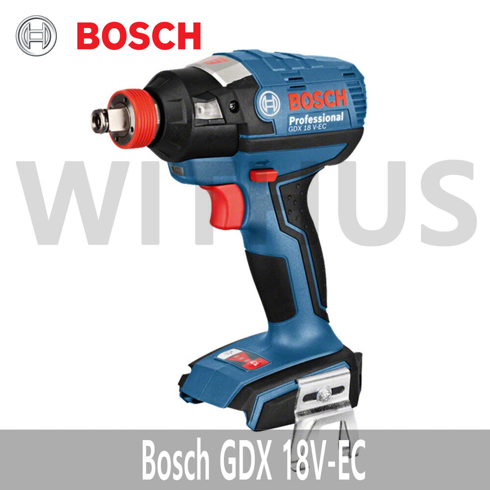 bosch gdx 18v ec professional cordless brushless impact driver wrench bare tool ebay. Black Bedroom Furniture Sets. Home Design Ideas