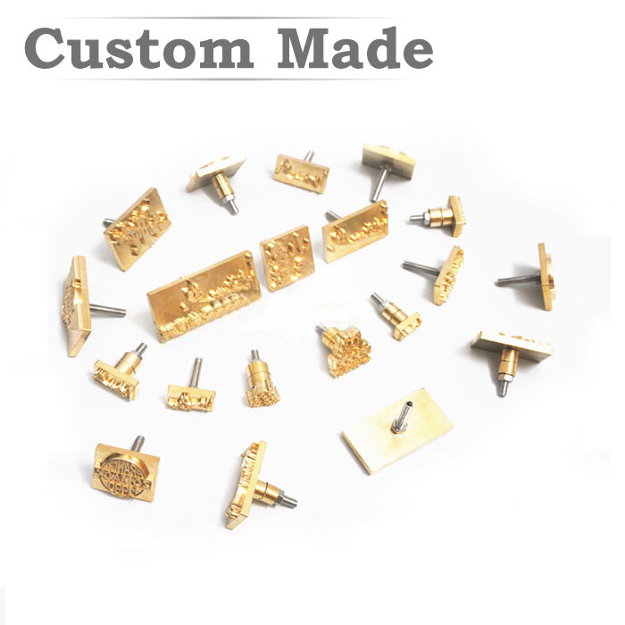 Diy Leather Embossing Stamp: Custom Leather Stamp Logo Seal Carving Embossing Tool Foil