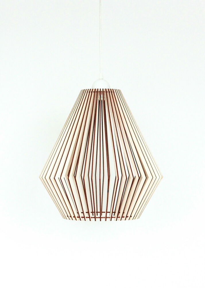 Wood Lamp Wooden Lamp Shade Hanging Lamp Pendant