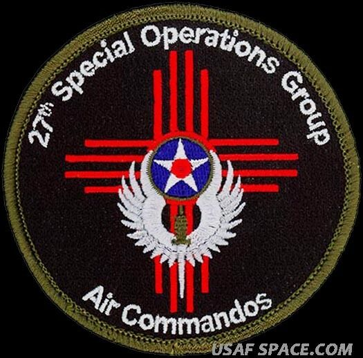 USAF 27th SPECIAL OPERATIONS GROUP – AIR COMMANDOS ...