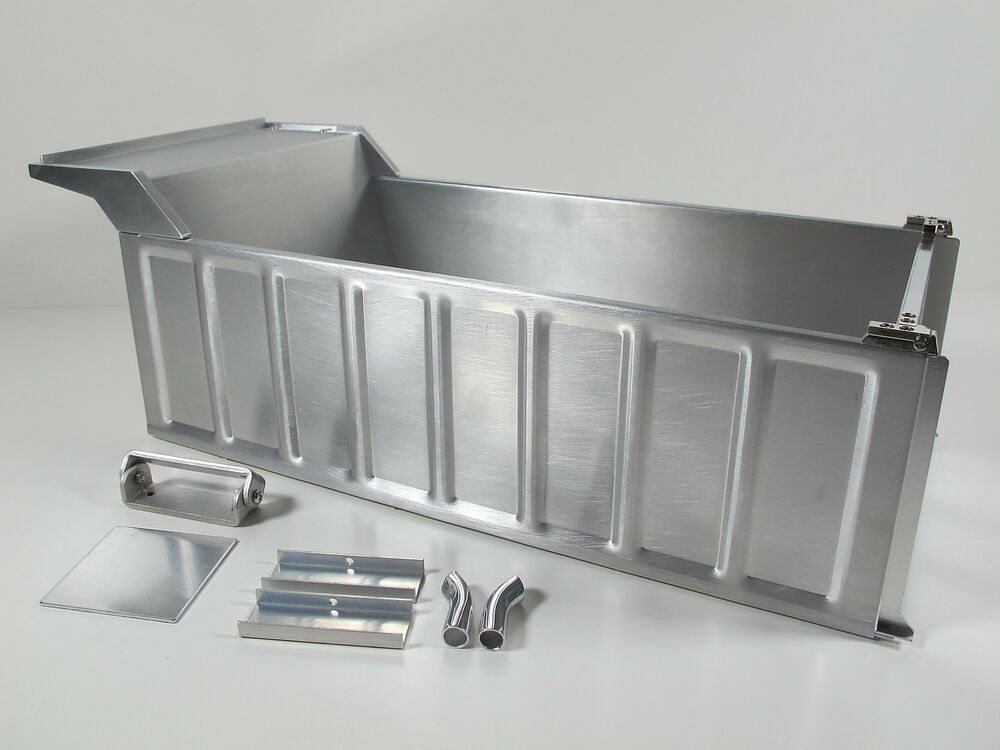 Aluminum Dump Bed Tub Conversion Kit Tamiya 1 14 Rc Semi