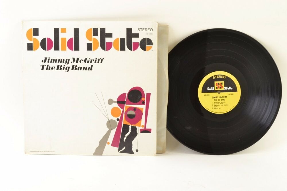 Download mp3 full flac album vinyl rip Jimmy McGriff - The Big Band (Vinyl, LP, Album)
