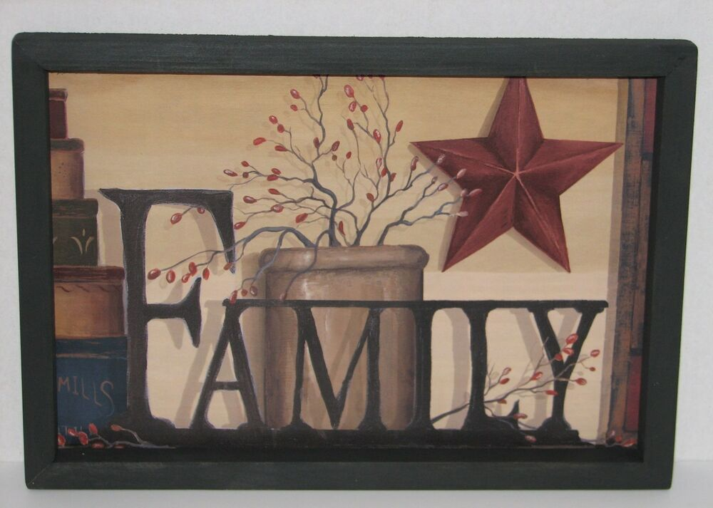 Family 9 X 13 Wall Decor Beautiful Ebay