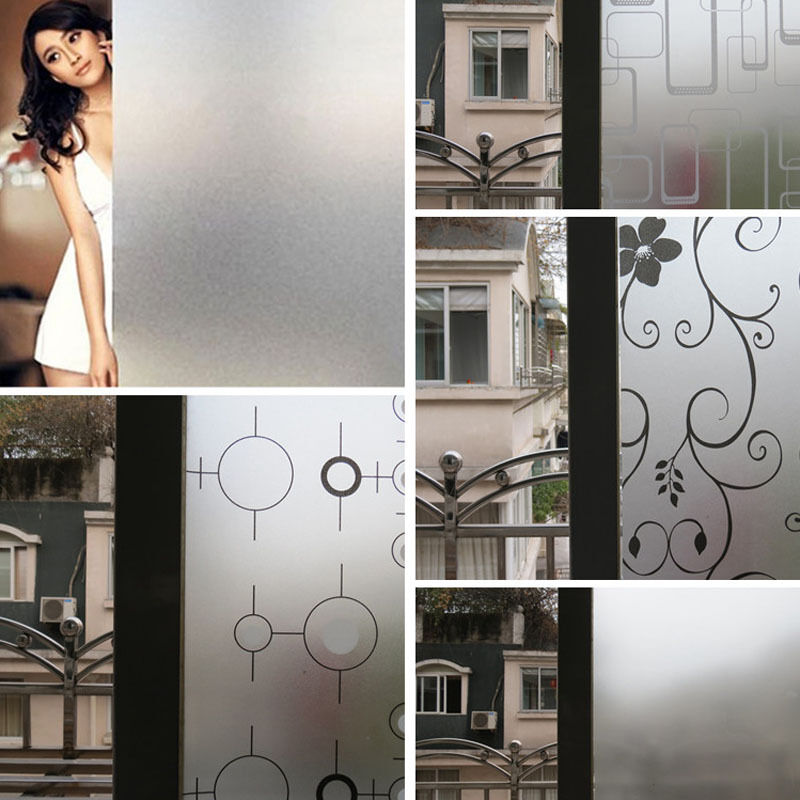 Pvc Frosted Sticker Glass Privacy Shower Screen Windows