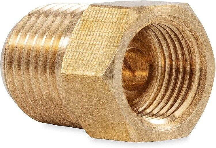 Quot inverted flare tube female npt male pipe