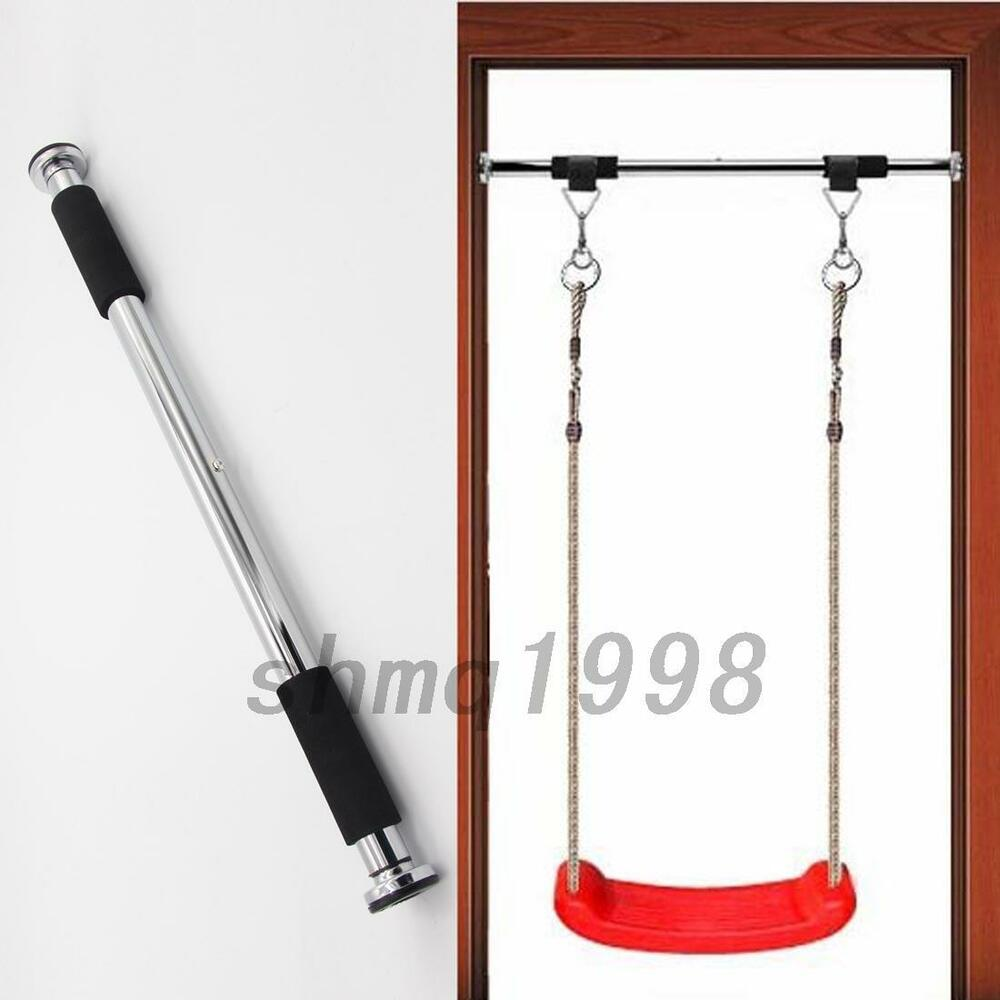 Purpose indoor gym pull up chin ups door bar frame gym for Door frame pull up bar