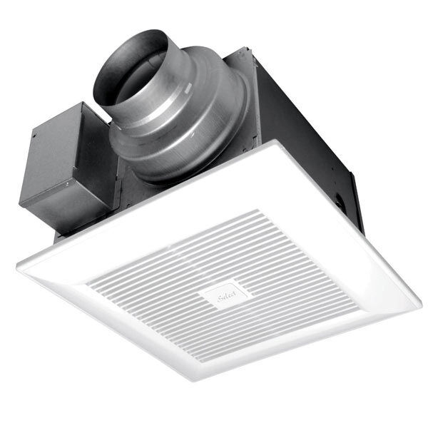 Panasonic whispergreen select 110cfm bathroom exhaust - Panasonic bathroom ventilation fans ...
