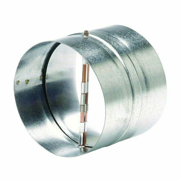 Soler Amp Palau Car200 Steel Duct Backdraft Damper 8 Quot Ebay
