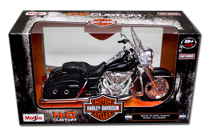 2013 Road Glide >> MAISTO Harley Davidson 2013 FLHRC Road King Classic 1:12 Black | eBay