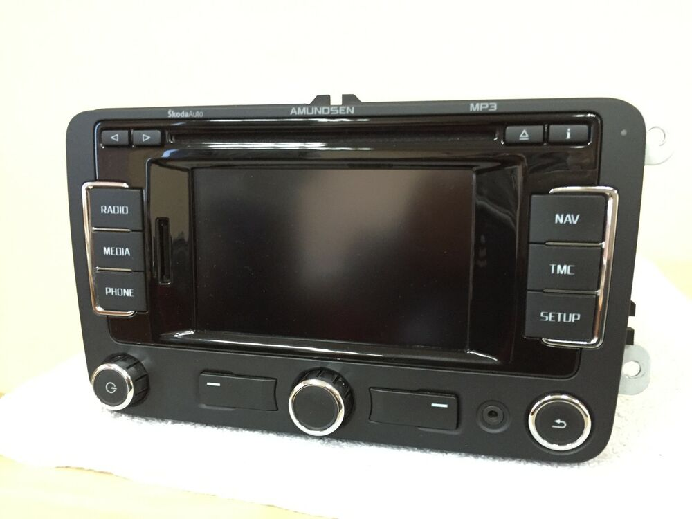skoda amundsen rns 315 rns315 navigation system hdd gps. Black Bedroom Furniture Sets. Home Design Ideas