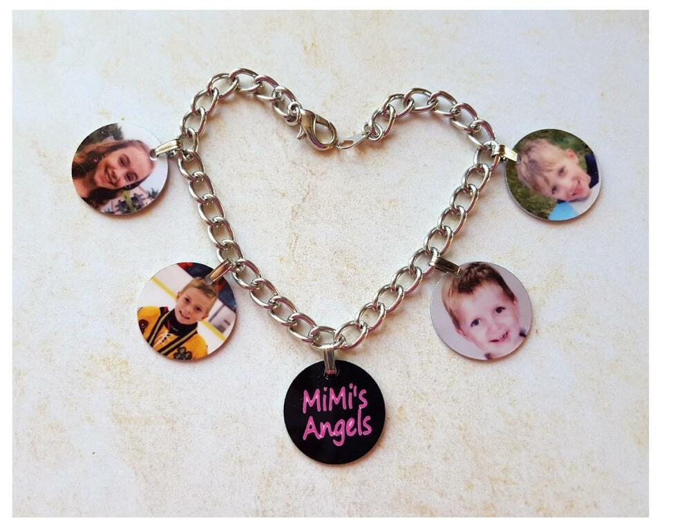 photo charm bracelet personalized with your photos mothers