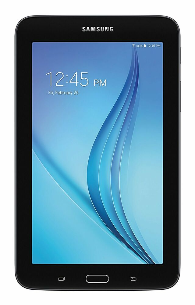 Samsung Galaxy Tab E Lite 7 Inch Tablet 8 Gb Black New