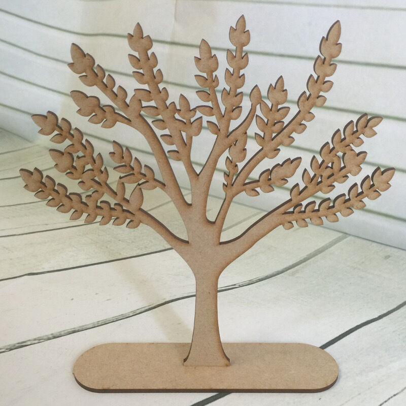 Mdf wooden family tree stand blank make your own code for Build your own tree stand