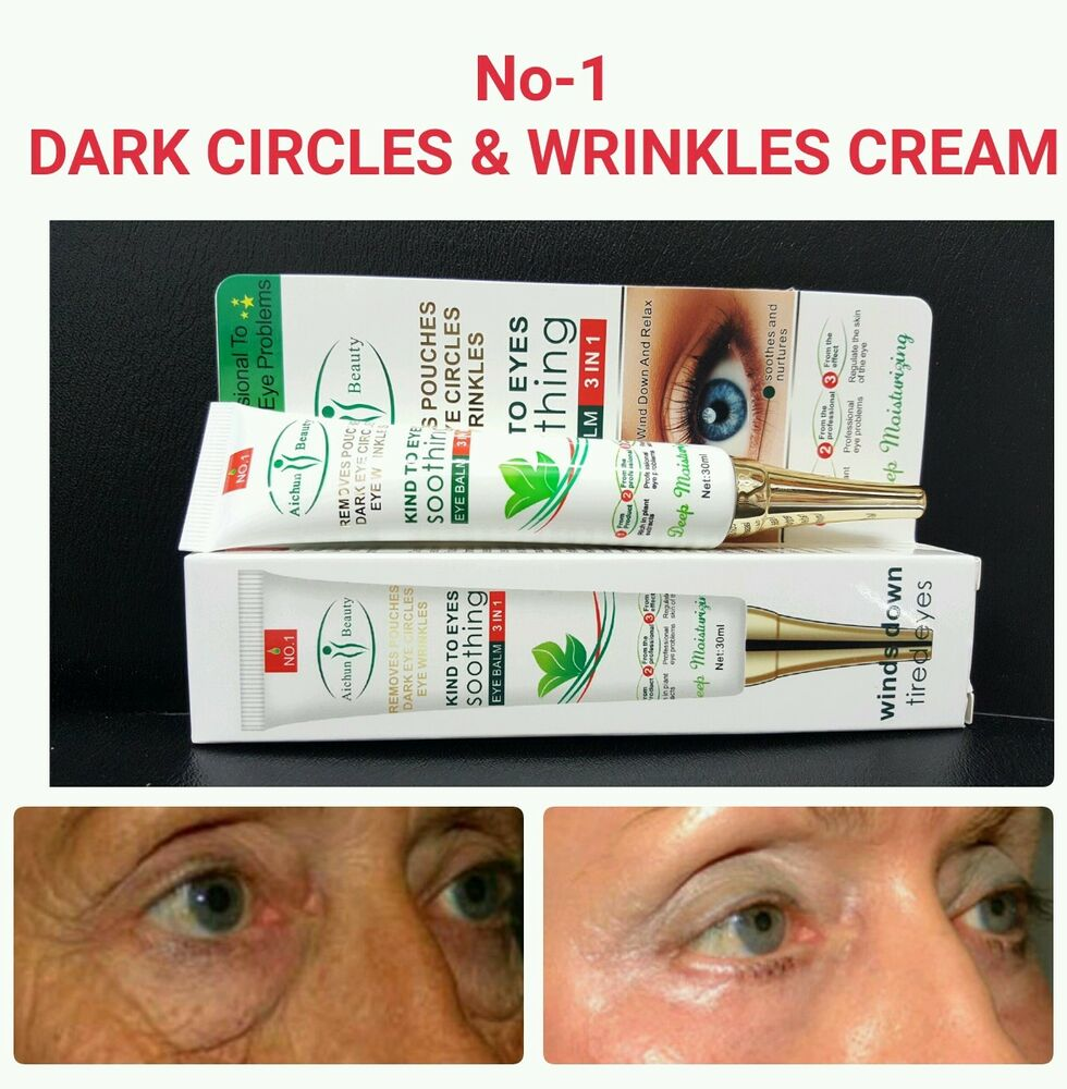 No 1 Anti Eye Wrinkles Cream Stops Dark Circles Removes