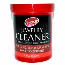 Jewelry Cleaner Solution Safely Clean all Jewelry Gold Silver & Diamonds