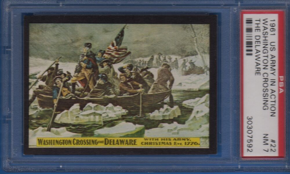 1961 rosan u s army in action 22 washington crossing the delaware