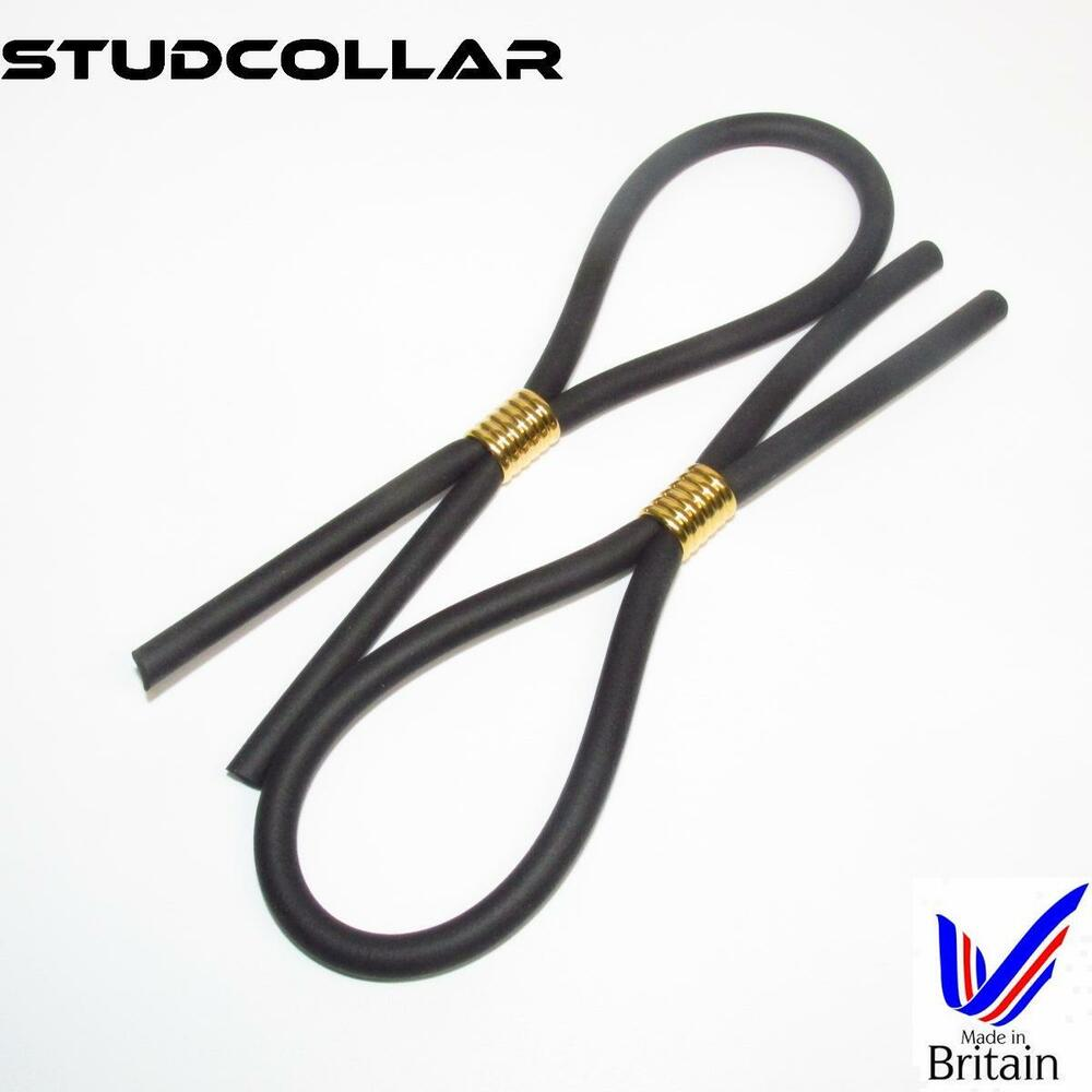 Details about STUDCOLLAR-FLEX-GOLD - TWIN PACK - Strong & Stretchy Rubber  Hoop/Penis Ring