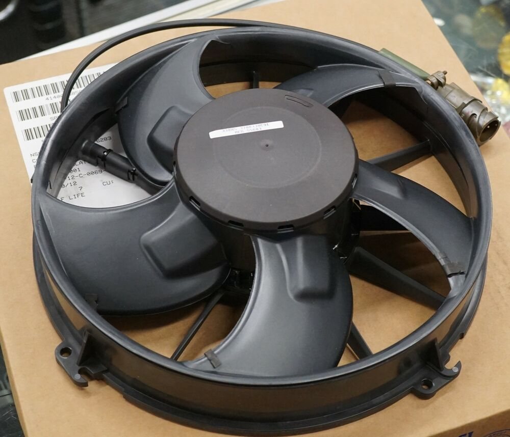 4 Inch 12 Volt Fan : Ebm papst volt dc inch brushless axial fan engine