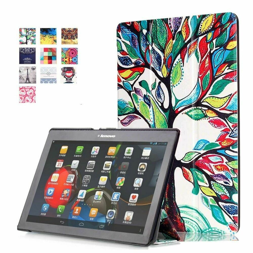 cover f r lenovo tab 2 a10 30 f l 10 1 zoll tasche h lle. Black Bedroom Furniture Sets. Home Design Ideas