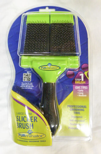 Furminator Slicker Brush Large Pet Brush Ebay