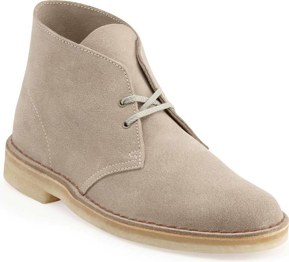 clarks originals desert boot men 39 s sand suede casual shoes 26107881 31695 ebay. Black Bedroom Furniture Sets. Home Design Ideas