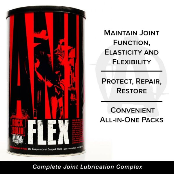 Universal Nutrition Animal Flex 44 packs Joint Health Glucosamine MSM Flax Oil