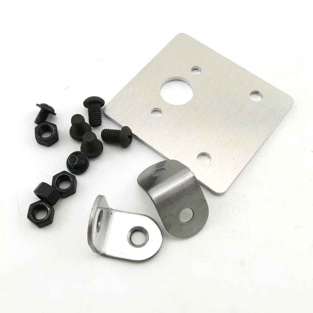 Stainless steel motor mount for 545 550 540 motor mounting for Electric motor mount bracket